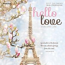 Hello Love 2017 Wall Calendar
