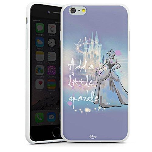 Apple iPhone X Silikon Hülle Case Schutzhülle Disney Cinderella Geschenke Fanartikel Silikon Case weiß