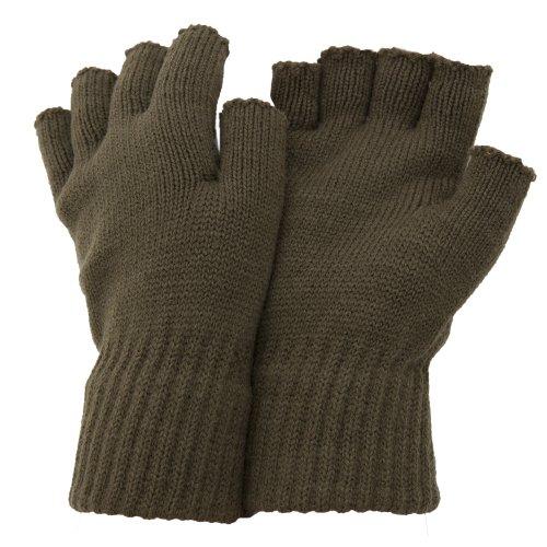 FLOSO-Mens-Fingerless-Winter-Gloves