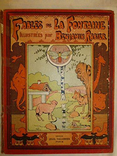 Fables illustrées par benjamin rabier.