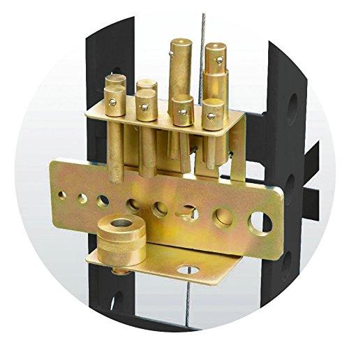 KS Tools 160.0129Set Henkellocheisen für Pressen Hydraulische