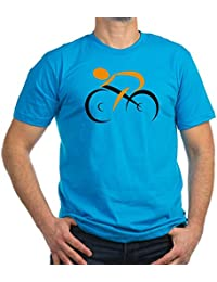 CafePress - Cycling - Men's Fitted T-Shirt (dark)