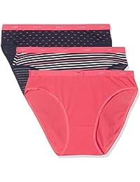 Dim Pockets Coton Slips, Braguita para Mujer (Pack de 3)