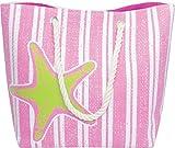 Samshine Fashion Strandtasche/Strandtasche, groß, wasserabweisend, mit Innenfutter, Innentasche,...