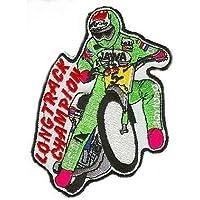Speedway Aufnäher Motive Longtrack Champion 5 farbig
