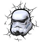 3d Deco Light Fx Disney Star Wars with Crack Sticker Stormtrooper