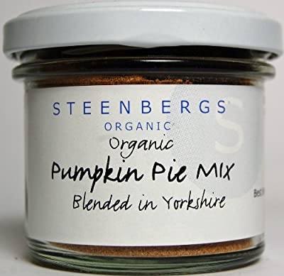 Organic Pumpkin Pie Spice Seasoning Standard Jar 40g by Steenbergs
