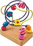 Woodyland 10x 12cm Lehr Spielzeug Mini Perlen Labyrinth