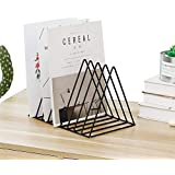 TIED RIBBONS Book Newspaper File Organizer Magazine Holder Stand for Table Desk Home Office Decor Use