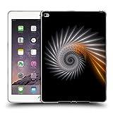 Offizielle Sven Fauth Spiral Silber Helix Soft Gel Hülle für Apple iPad Air 2