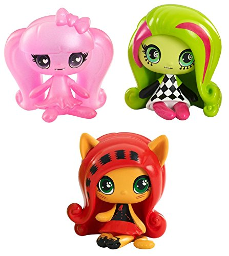 Monster High Minis 3-er Pack, inkl. Getting Ghostly Draculaura, Circus Ghouls Venus McFlytrap und (Charaktere Alle Monster High Von)