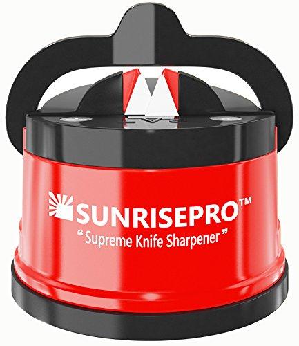 SunrisePro-afilador-de-cuchillos-EEUU-patentado-original-Rojo