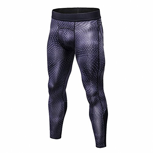 Bmeigo Homme Workout Leggings 3D Running Exercise Tight Bodybuilding Sport  Pantalons 7361111afc1