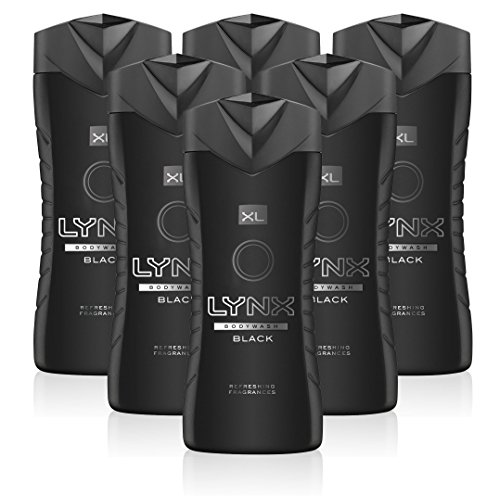 51ZP qJKDUL - NO.1 BEAUTY# Lynx Black Shower Gel XL Mens Body Wash, 400 ml (6 Pack) Reviews  Best Buy price