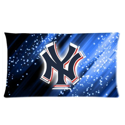 Stylish Design New York Yankees Club Team Logo personalized pillowcase hotsale for Children 20x36 Two sides-4