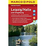MARCO POLO Freizeitkarte Leipzig/Halle und Umgebung