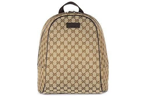 Gucci-womens-rucksack-backpack-travel-gg-canvas-beige