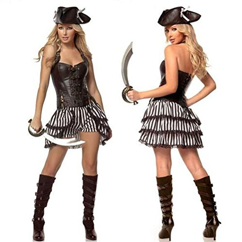 TYERY Spieluniformen Piraten - (Outfit Piraten Männer)