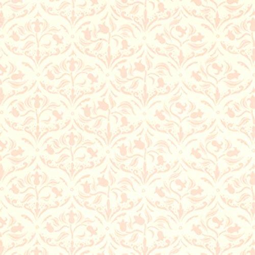 Melody Jane Puppenhaus Jugendstil pink Arabeske Tulpen Miniatur Druck 1:12 Tapete