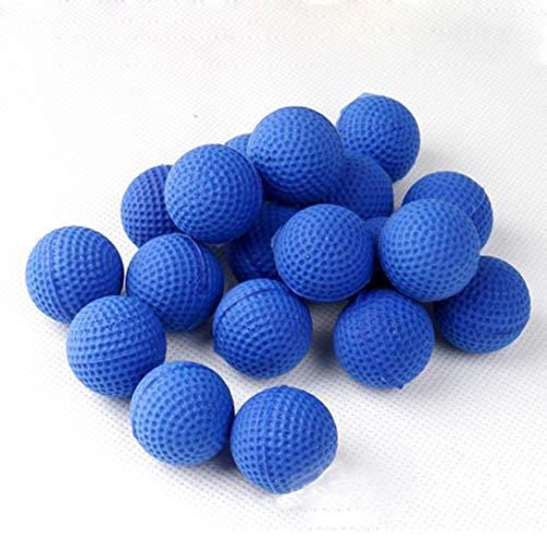 Kostüm Artemis Kinder - Bobopai Rival Refill Ammo, 50Pcs Bullet Balls Rounds Compatible for Rival Apollo Child Toy (Blue)