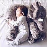Cute Animal Elefante almohada manta de apoyo cojín muñeca de peluche de peluche gran regalo para kids Baby Infant