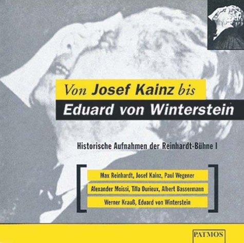 Von Josef Kainz bis Eduard von Winterstein, 1 Audio-CD