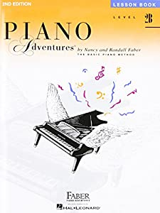Faber Piano Adventures Level 2B: Lesson Book 2nd Edition