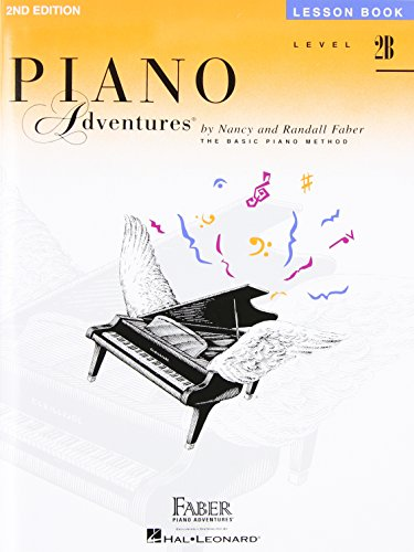 Piano adventures lesson book level 2b piano