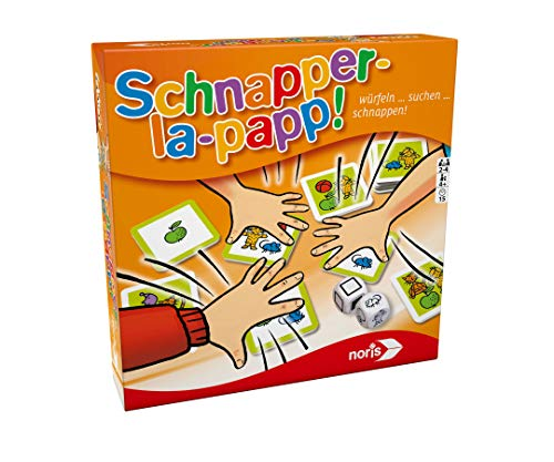 noris 606011638 Schnapper-la-Papp Spiel, Kinderspiel