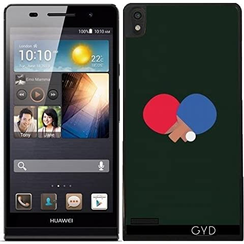 Custodia per Huawei Ascend P6 - Ping-pong E Palla Bat by ilovecotton