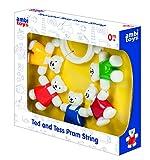 Ambi Toys Ted and Tess Pram String