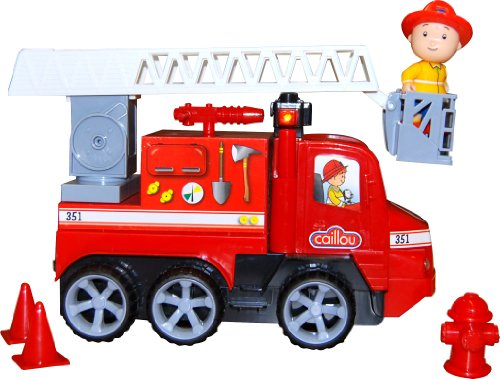 Caillou Fire Truck with Lights and Sounds