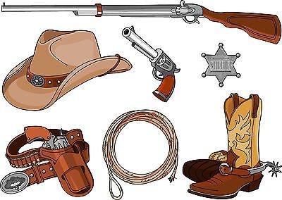 Preisvergleich Produktbild Sticker Kit Kinder Aufkleber-Cowboys Ref Kniebandage PRO (7Maße), 70x90cm