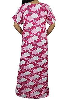 a6f09dca2f Indiatrendzs Women Hosiery Nighty Summer Floral Sleepwear Night Gown 54