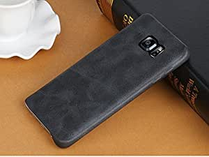 Sunny Fashion Soft PU Leather Back Case Cover for Samsung Galaxy J7