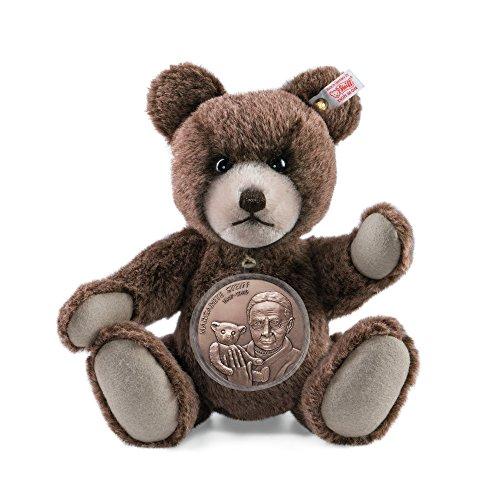 Steiff 673801 Teddybär Alpaca braun mit Medaille