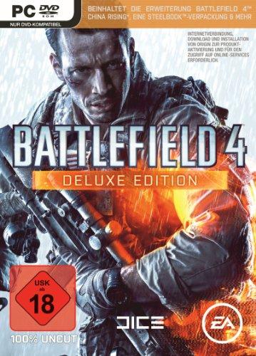 Battlefield 4 - Deluxe Edition (Exklusiv bei Amazon.de) - [PC] (Pc-battlefield 4)