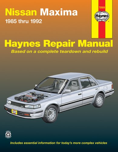 nissan-maxima-1985-1992-haynes-repair-manual