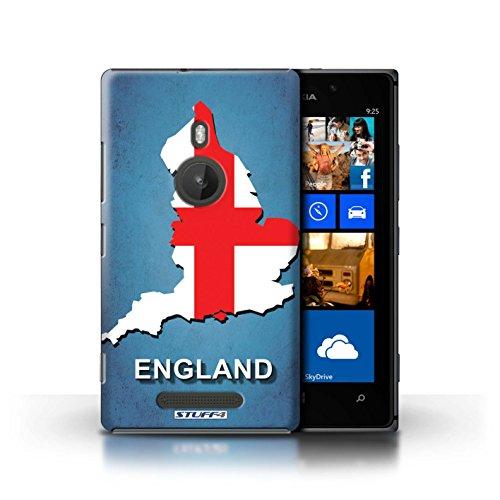 Coque de Stuff4 / Coque pour Nokia Lumia 925 / Ecosse/écossaise Design / Drapeau Pays Collection Angleterre/Anglais