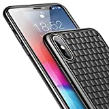 Baseus B® Luxury Grid Weaving CASE for iPhone Xs MAX Cases Ultra Thin