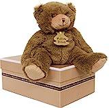 Histoire d'ours HO1155 Calin'Ours - Oso de peluche (tamaño pequeño), color marrón