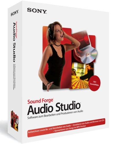 Sony Sound Forge Audio Studio 8 (Audio Forge Sound Sony Studio)
