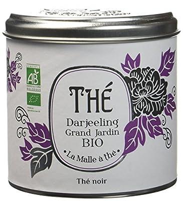 La malle à Thé Darjeeling Grand Jardin Bio 100 g - Lot de 2