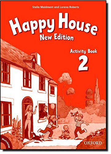 Happy House 2: Activity Book and MultiROM Pack New Edition (Happy Second Edition) - 9780194730341