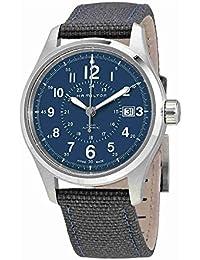 Hamilton Reloj de hombre automático 40mm correa de nylon color azul H70305943