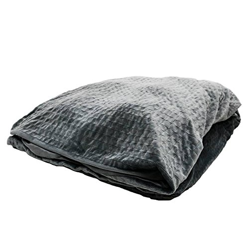 Senso-Rex. Premiumqualität Gewichtsdecke für Erwachsene warme Schwerkraft-Decke Thermodecke Therapiedecke Größe: 135x200 cm, Gewicht 6 kg