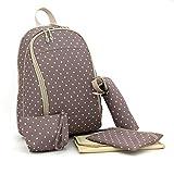 Ayliss® 5teiliges Baby Wickeltaschen Set Babytasche Pflegetasche Tasche Mutter Rucksäcke