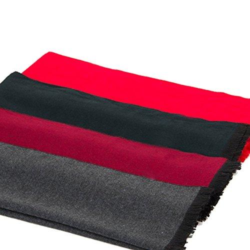 SAPEOO Hommes Europe Haute Qualité Solide Brossé Silencieux Couleur En Option red