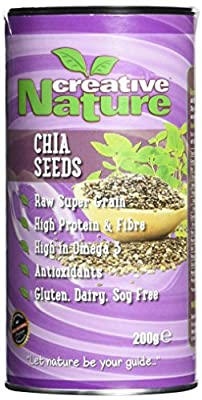Creative Nature Raw South American Chia Seeds 200 g