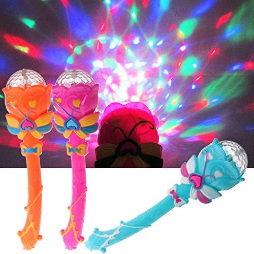 tik Tier Spielzeug ,Halloween Party Trick Spielzeug, Neue Leuchtstab Kinder Spielzeug Sterne Blinkt Leuchtstab Musical Zauberstab Für Kind ()